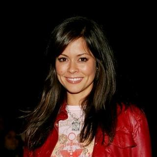 Brooke Burke in Mercedes-Benz Spring 2006 L.A. Fashion Week at Smashbox Studios - Antik Denim - Front Row