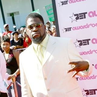 David Banner in 2004 BET Awards Red Carpet