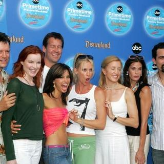 Nicollette Sheridan, Teri Hatcher, Marcia Cross, Eva Longoria, Felicity Huffman, Steven Culp, Ricardo Antonio Chavira, James Denton in ABC's 3rd Annual Primetime Preview Weekend