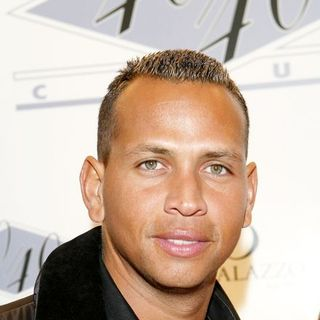 Alex Rodriguez in 40/40 Club Grand Opening - Arrivals