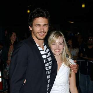 James Franco, Anna O'Reilly in In The Valley of Elah - Movie Premiere - Arrivals