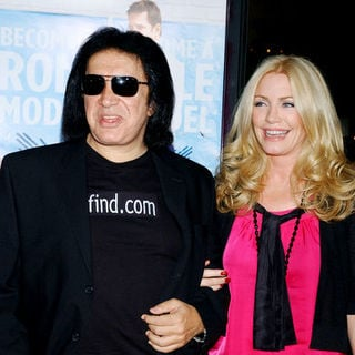 "Gene Simmons, Shannon Tweed in ""Role Models"" World Premiere - Arrivals"