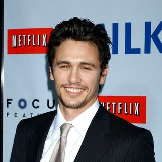 "James Franco in ""Milk"" Hollywood Premiere - Arrivals"