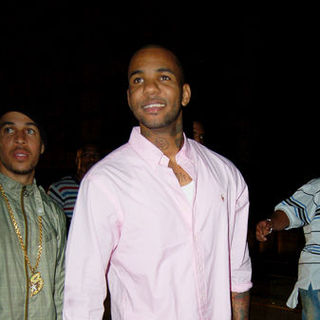 The Game in The Game Departing My House Club in Hollywood on June 28, 2009