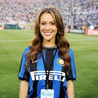 Alyssa Milano in 2009 Soccer - World Football Challenge - Chelsea vs. Inter Milan - July 21, 2009