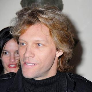 Jon Bon Jovi in First Reading, a Benefit For The Studio Dante Theater Founded By Michael Imperioli
