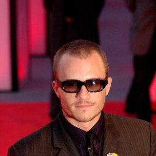 Heath Ledger in 2005 Venice Film Festival - Casanova Premiere - Red Carpet
