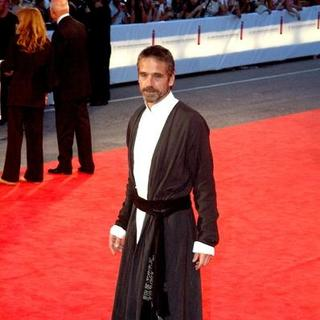 Jeremy Irons in 2005 Venice Film Festival - Casanova Premiere - Red Carpet
