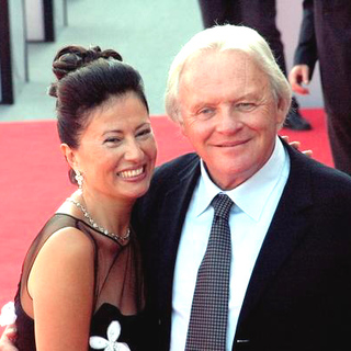 Anthony Hopkins, Stella Arroyave in 2005 Venice Film Festival - Proof Premiere