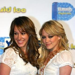 Hilary Duff - Hilary and Haylie Duff Debut Liquid Ice Campaign