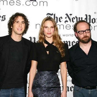 Josh Groban, Hilary Swank, Paul Giamatti in 4th Annual New York Times Arts And Leisure Weekend