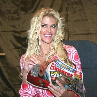 Anna Nicole Smith in Anna Nicole Smith Kicks Off The Re-launch of The National Enquirer