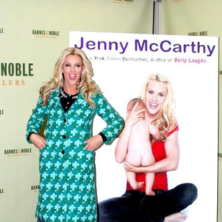 Jenny McCarthy Signs Her New Book Belly Laughs-The Naked Truth About The First Year of Mommyhood - JTM-009441
