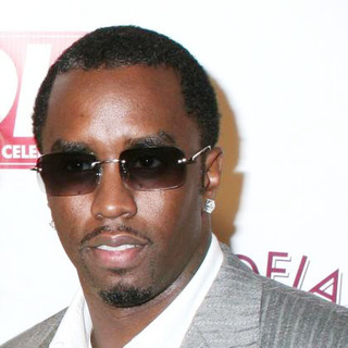 Diddy in Jessica Simpson and Diddy Host The Launch of OK! Magazine
