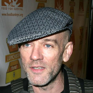 Michael Stipe in The Food Bank for New York City and The Lunch Box Fund