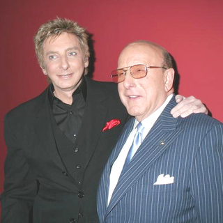 Barry Manilow, Clive Davis in Barry Manilow Concert For His New CD The Greatest Songs of the Fifties