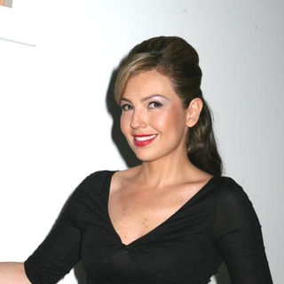 Thalia in Olympus Fashion Week Fall 2006 - Heart Truth Red Dress Collection Show - JTM-014685