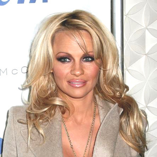 Pamela Anderson - Olympus Fashion Week Fall 2006 - Pamela Anderson Hosts the PETA Party