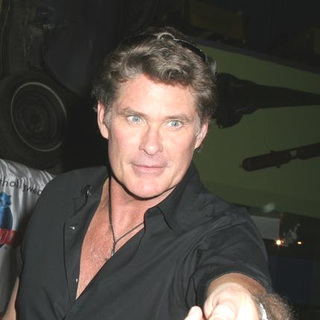 David Hasselhoff - David Hasselhauf Promotes Click at Planet Hollywood