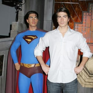Brandon Routh in Brandon Routh Unveils Superman Wax Figure At Madame Tussaud's