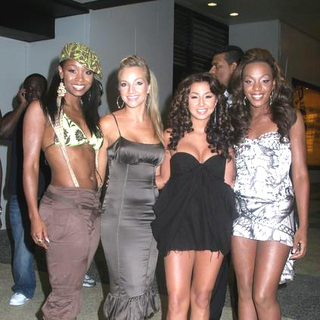 Danity Kane in MTV TRL Departures on 08-07-2006