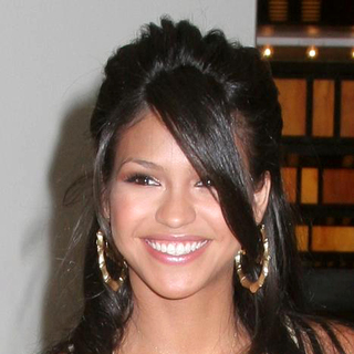 Cassie in MTV TRL Arrivals for 08-08-2006