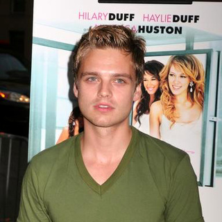 Sebastian Stan in Material Girls New York Movie Prmiere