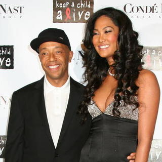 Kimora Lee Simmons, Russell Simmons in Conde Naste Media Group Presents The Black Ball - Arrivals
