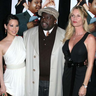 Lucy Liu, Cedric the Entertainer, Nicollette Sheridan in Code Name The Cleaner New York Premiere