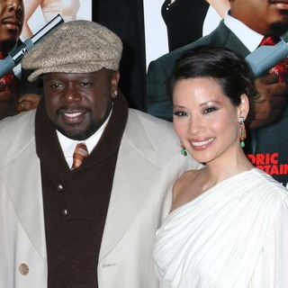 Cedric the Entertainer, Lucy Liu in Code Name The Cleaner New York Premiere