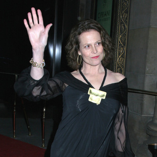 Sigourney Weaver in AmfAR New York City Gala Honoring John Demsey, Whoopi Goldberg and Bill Roedy - Arrivals