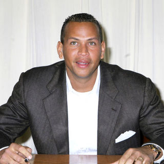Alex Rodriguez Signs Copies of His New Book Out of The Ballpark