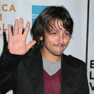 Diego Luna in Chavez Press Conference presented by the Tribeca Film Festival - Arrivals