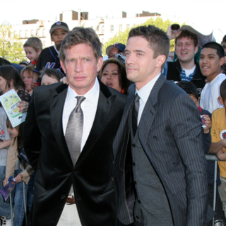 Topher Grace, Thomas Hayden Church in Spider-Man 3 Movie Premiere - New York City - Arrivals