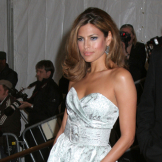Eva Mendes in Poiret, King of Fashion - Costume Institute Gala at The Metropolitan Museum of Art - Arrivals - JTM-025074