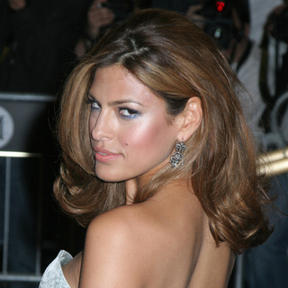 Eva Mendes in Poiret, King of Fashion - Costume Institute Gala at The Metropolitan Museum of Art - Arrivals - JTM-025076