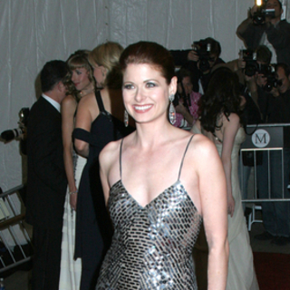 Debra Messing in Poiret, King of Fashion - Costume Institute Gala at The Metropolitan Museum of Art - Arrivals