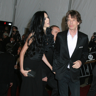Mick Jagger in Poiret, King of Fashion - Costume Institute Gala at The Metropolitan Museum of Art - Arrivals