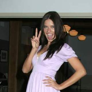 Adriana Lima - Dance For Tolerance Project - Outreach Program For Underprivileged Youth - May 30, 2007