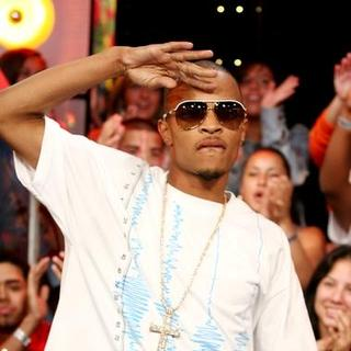 T.I. in MTV's Taping of Mi TRL With Tyrese Gibson, T.I. and Zion