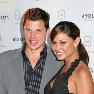 Nick Lachey, Vanessa Minnillo in Grand Opening of 'The Atelier', The Building Where Nick Lachey and Vanessa Minnillo Reside