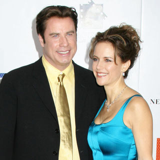 John Travolta, Kelly Preston in Hairspray New York City Movie Premiere - Arrivals
