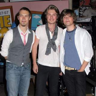 Hanson in Hanson Autograph Signing To Promote Their New CD - The Walk