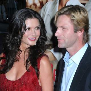 Catherine Zeta-Jones, Aaron Eckhart in No Reservations New York Movie Premiere - Arrivals