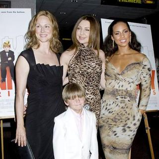 Alicia Keys, Laura Linney, Donna Murphy, Nicholas Reese in The Nanny Diaries Movie Screening - Arrivals