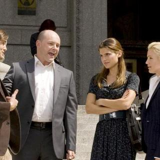 Cameron Diaz, Lake Bell, Ashton Kutcher, Rob Corddry in 'What Happens In Vegas' Movie Filming in New York City