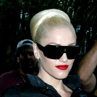 Gwen Stefani in Mercedes-Benz Fashion Week Spring 2008 - L.A.M.B. Fashion Show