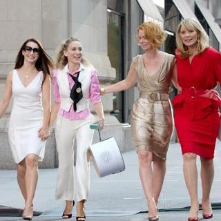 Sex and the City: The Movie - Filming On Location - September 21, 2007