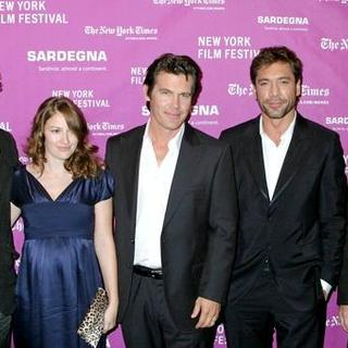 Ethan Coen, Kelly Macdonald, Josh Brolin, Javier Bardem, Joel Coen in 45th New York Film Festival - 'No Country For Old Men' Movie Screening - Arrivals