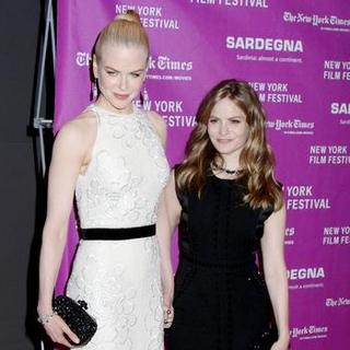 Nicole Kidman, Jennifer Jason Leigh in 45th New York Film Festival - 'Margot At The Wedding' Movie Screening - Arrivals